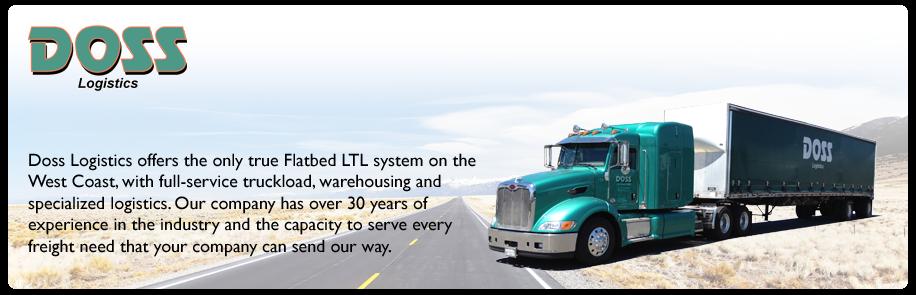 Ltl Flatbed Trucking Ltl Shipping Doss Logistics